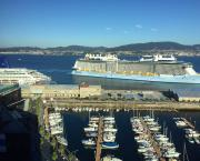 El equipo de arquitectos que propone un rediseño de Abrir Vigo al Mar espera decisiones.