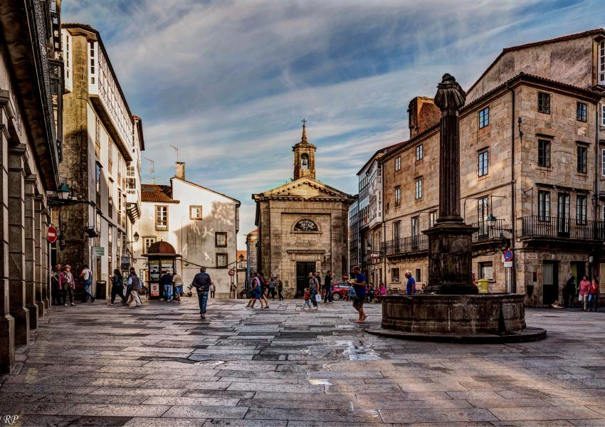 Praza Cervantes, Santiago de Compostela