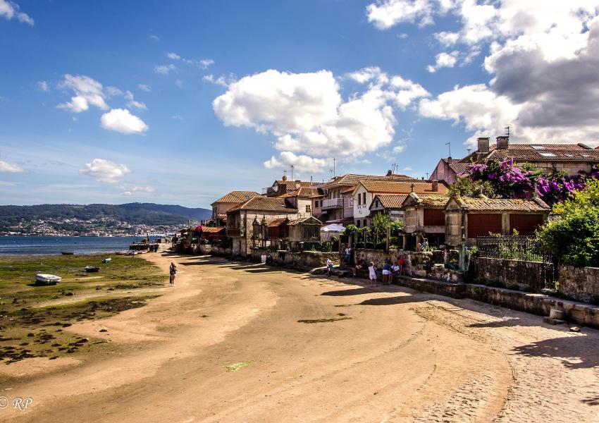 Unha vista de Combarro, Pontevedra