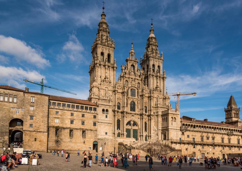 A Catedral de Santiago de Compostela