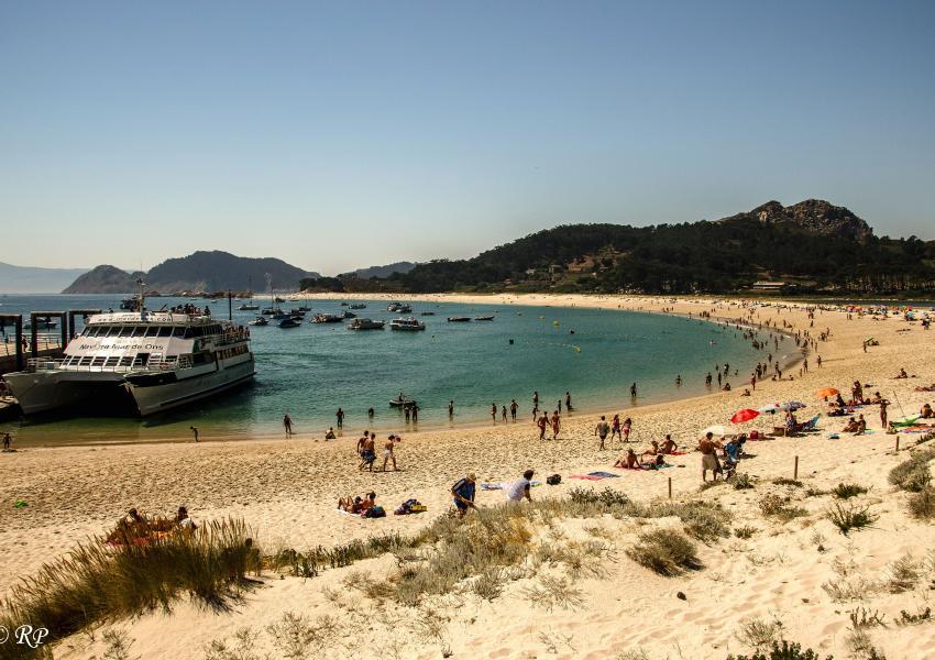 Praia de Rodas, Illas Cies