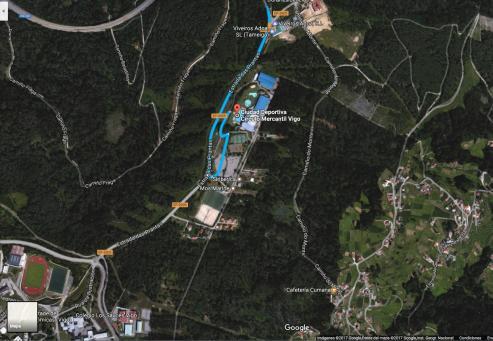 Se ha procedido a la tala y retirada de árboles en la zona de Pereiras.