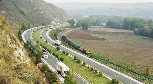 Los 84 kilometros que van desde Burgos a Álava pasan esta medianoche a ser gratuitas tras decadas de concesion.