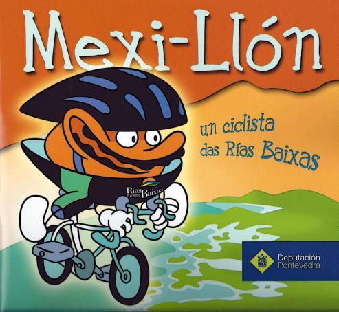 Logo Mexillon - Un cliclista de las Rias Bajas