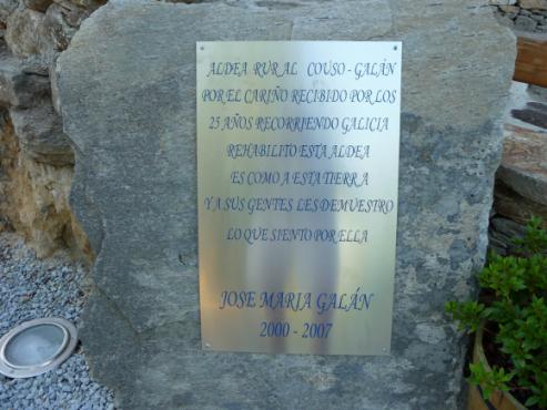 Couso Galan, primera aldea reconstruida de Galicia