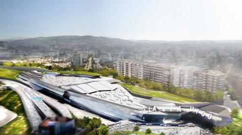 La puesta en marcha de VIALIA, supondrá el adios al puente de la calle Alfonso XIII y a la estación de autobuses de la Avenida de Madrid, al abrir el complejo para trenes, autocares y establecimientos.