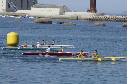 El club local, logró ayer en Bouzas la victoria en la clasificación Masculina y femenina del Trofeo Ciudad de Vigo.