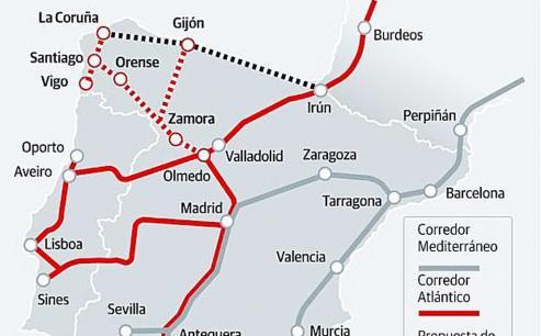El visto bueno del Parlamento y el Consejo europeo modificar el trazado del tren con la inclusión del Noroeste.