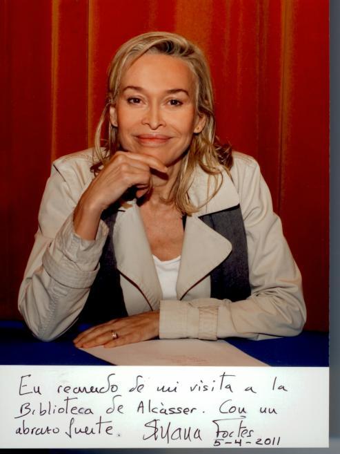 Escritora, articulista, profesora Susana Fortes