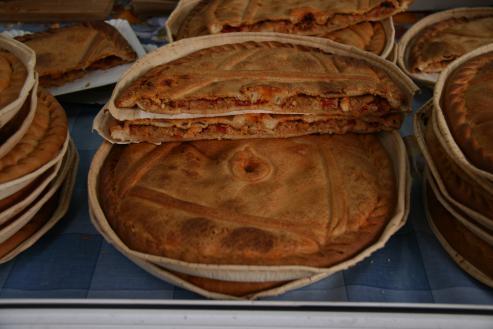 Variedades de empanada gallega