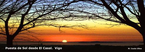 Puesta de sol desde el Casal -  Vigo