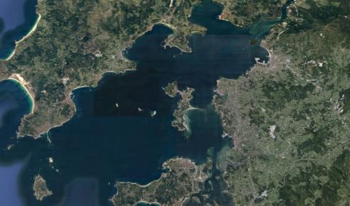 Las rias de Vigo, Pontevedra y Arosa, y las Terras do Bolo tienen la mejor aptitud climática.