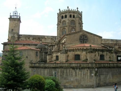 Vista de la Catedral de Orense