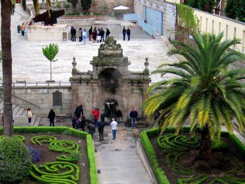 Manantiales termales - Las Burgas