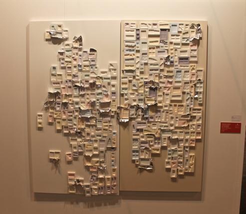 Rubén Grilo es un artirsta conceptual que se formó en Barcelona y en Ámsterdam, que vive en Berlín y que expone estos días en Madrid.
