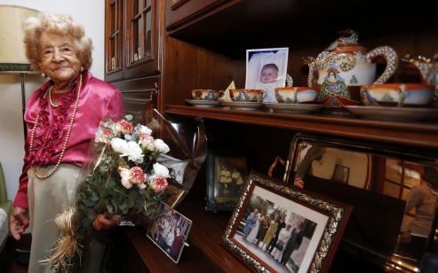 Aquilina Alonso, la centenaria `pontevedresa, fallece a los 105 años