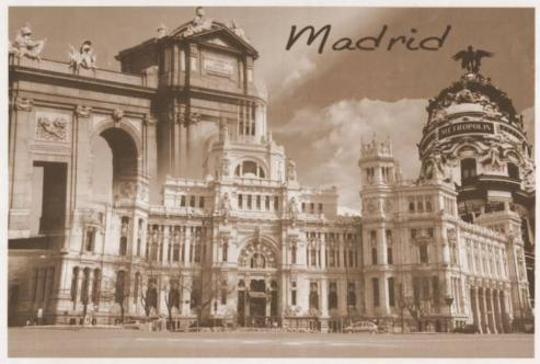 Lugar de encuentro de los gallegos en el centro de Madrid