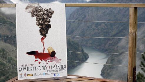 Un total de 24 bodegas de la Ribeira Sacra han participado este fin de semana en la 39 edición de la Feira do Viño de Amandi, que se ha celebrado en de Sober, lo que supone dos bodegas más que el año pasado.