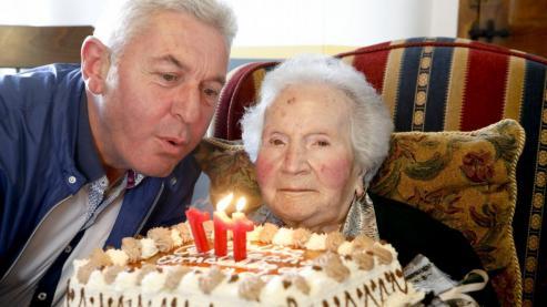 Celestina Penabad, la abuela de Galicia, falleció ayer 13 de septiembre de 2018 en Roupar..