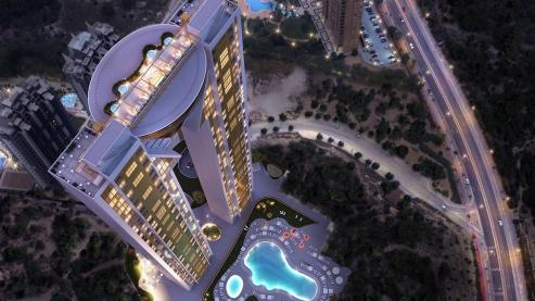 El fondo estadounidense SVP adjudica a Dragados el fin de las obras del rascacielos InTempo, en Benidorm.