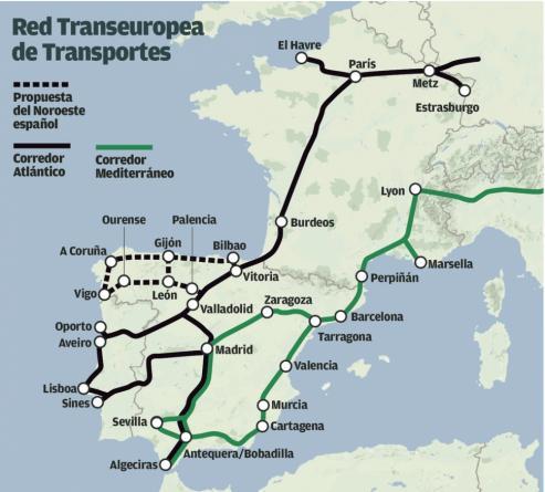 """El apoyo del país vecino permite """"consolidar unha alianza estratéxica do noroeste peninsular""""."""