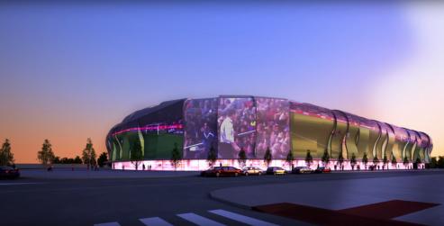 Hoy se presentaba la Ciudad Deportiva del Celta,una actuación de más de 800.000 metros cuadrados.