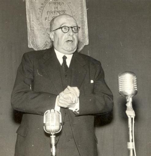 Ramón Otero Pedrayo (Ourense, 5 de marzo de 1888- Ourense, 10 de abril de 1976) é unha das grandes figuras da literatura e a cultura galega.