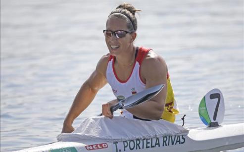 Teresa Portela,la Penta-olimpica de Remo de Aldan
