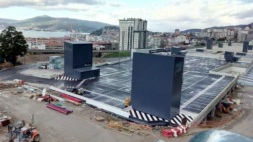 La nueva estación del tren de Vigo, segun el proyecto Mayne.