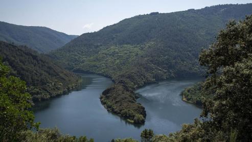 Una ruta de singular interés paisajístico discurre por el municipio de Ribas de Sil.