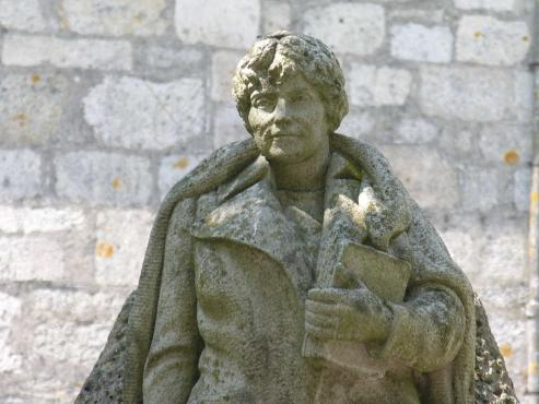 Rosalia, la escritora y poetisa del renacimiento de la literatura gallega.