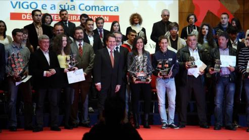 Maria Bernabéu y Agustin Alejos, mejores deportistas de Vigo de 2016.