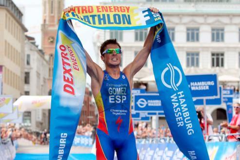 El 5 veces campeon del mundo de triatlon - Septiembre 2015