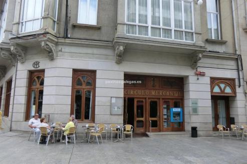 Sede central del Circulo Mercantil de Vigo