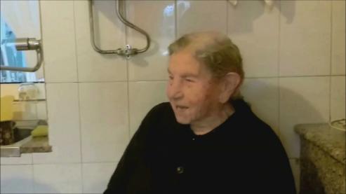 Avelina MOUZO LEIS, de Camariñas, cumple el 24.12.16 - 112 años