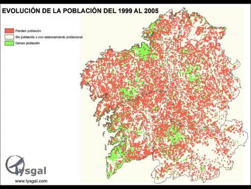Las aldeas abandonadas del rural gallego, siguen aumentando cada año