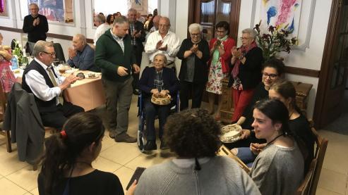 La silledense Concepcion Pichel, tenia 110 años.