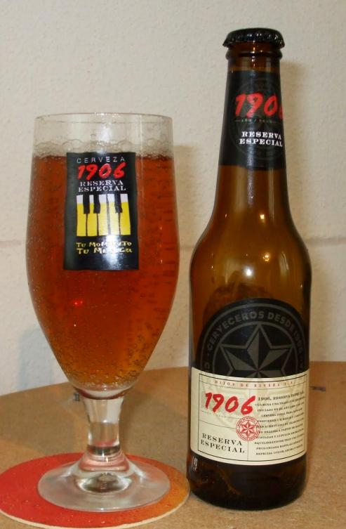 La World Beer Challenge da la mayor puntuación, entre mas de 500 marcas, a 1906Reserva Especial.