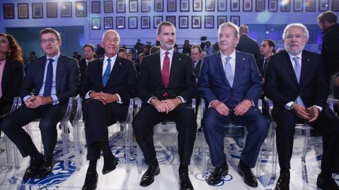 Otro año más, se entregan los premios Fernandez Latorre, en 2018 al presidente de Portugal.